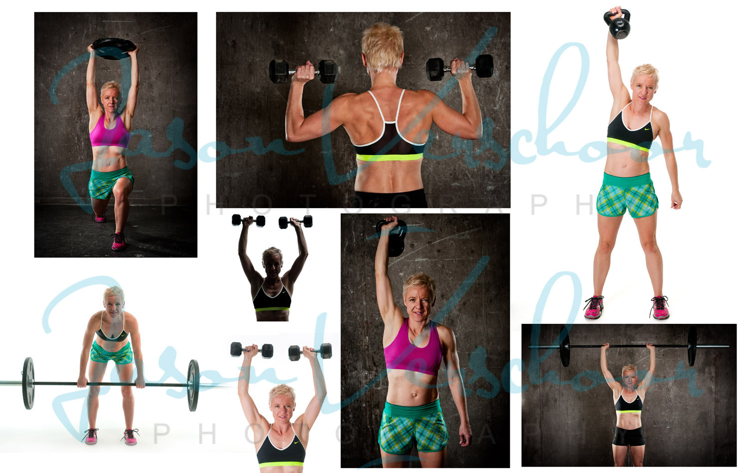 Compilation of a feel good fitness shoot in Calgary by photographer Jason Verschoor