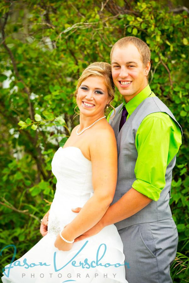 Wedding Photography of Alberta couple